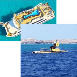 Submarine tours in Hurghada