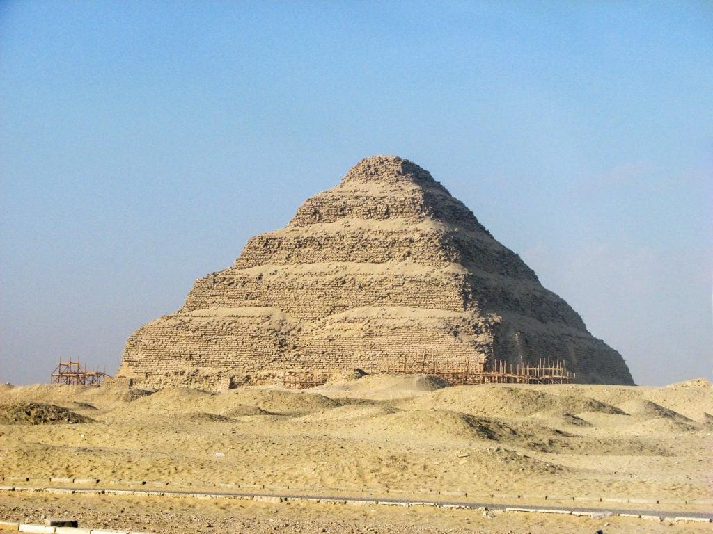 Saqqara Pyramid of Zoser