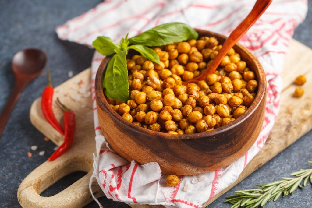 Baked Spicy (or mild) Chickpeas in Egypt