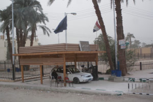 Police Check points are common across Egypt. Tourism and tourist protection is top priority for the Egyptian Government.