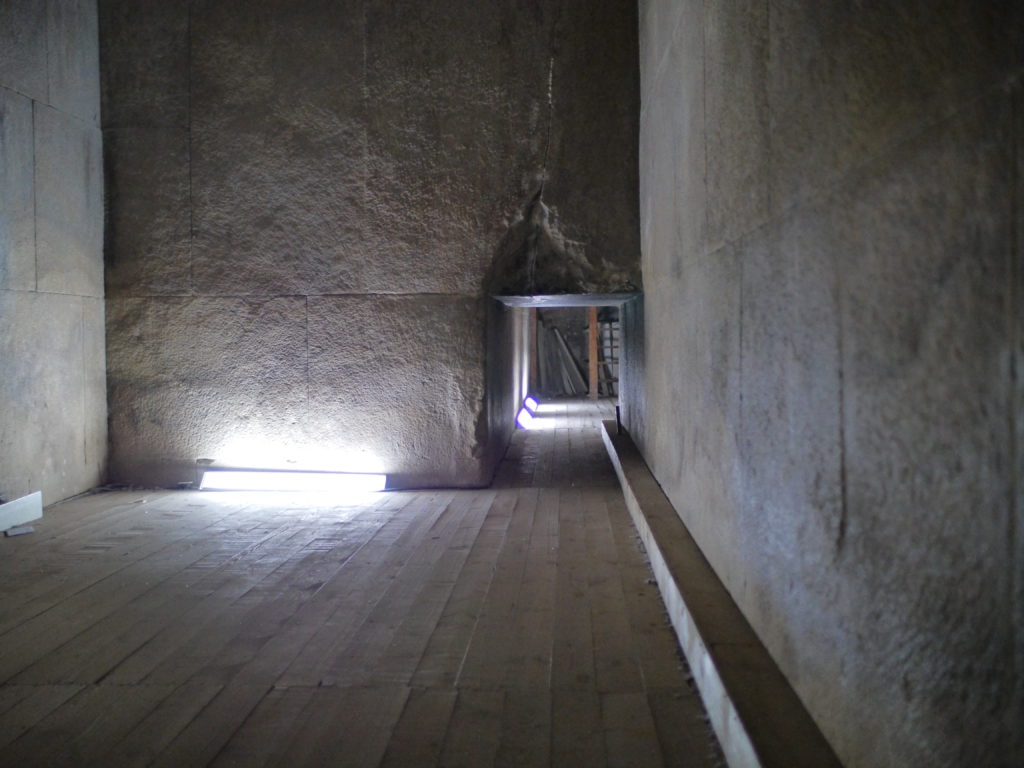 Inside an Egyptian Pyramid