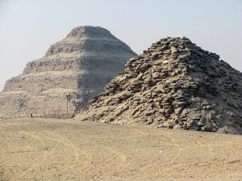 Userkaf Pyramid in Egypt