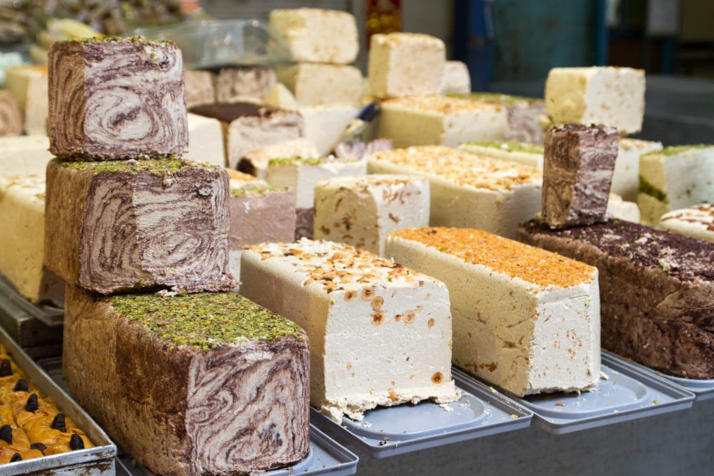 Egyptian Halawa in Different Flavors