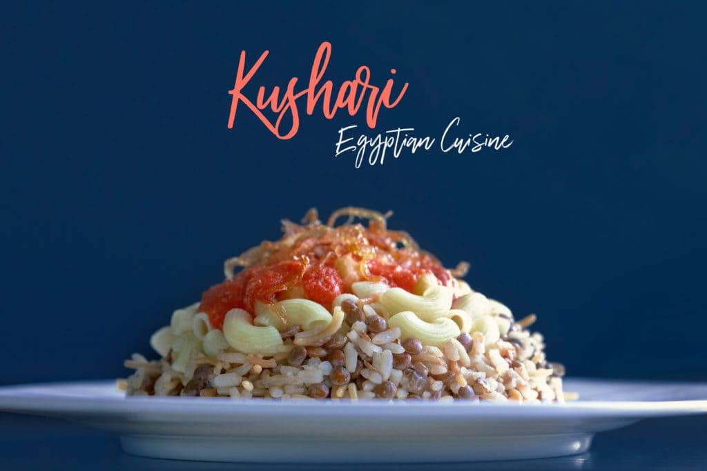 Egyptian Kushari