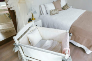 Bedroom with Baby Crib