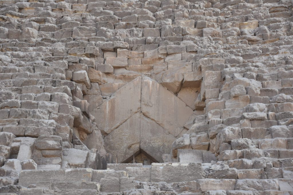 Great Pyramid (Khufu) Entrance