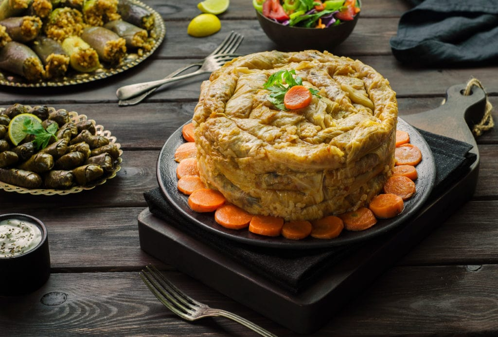 Egyptian Stuffed Cabbage Rolls