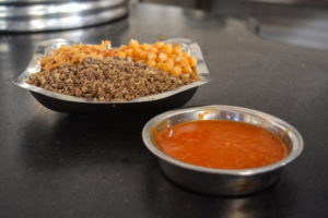 Koshai Toppings and Tomato Sauce