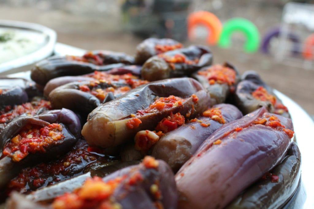 Egyptian pickled Eggplants