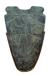 King Narmer Palette - 3200 BC Showing Early Clothing Style