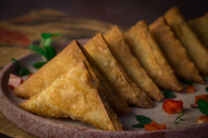 Relatively Thin Samosa is more Common in Egypt than Thick ones