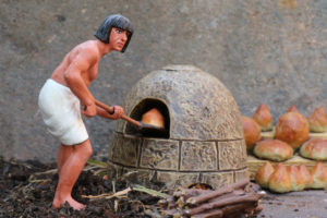 Ancient Egyptian breadmaker