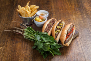EGyptian Sausage (Sogou) and Alexandrian Liver Sandwiches