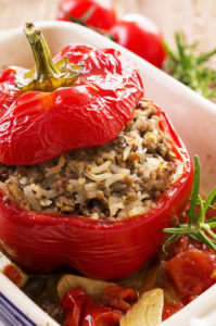 Egyptian Tomato Mahshi