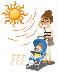 Heat stroke is a serious risk in Egypt