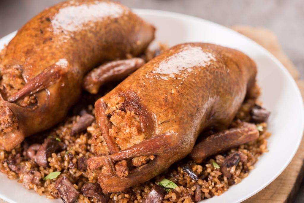 Hamam Mahshi (Stuffed Pigeons)