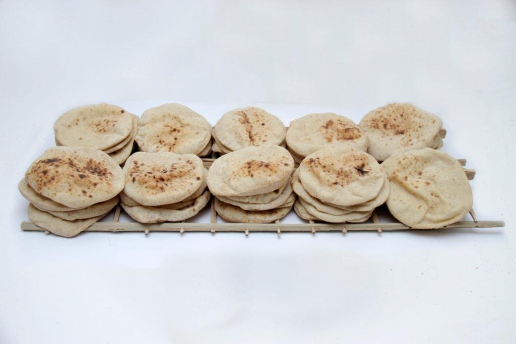 Egyptian Baladi Bread