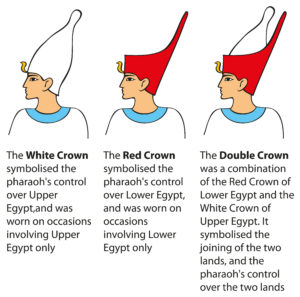 Ancient Egypt Pschent (or  Pshent ) King Crown