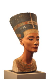 Egyptian Queen Nefertiti in Modius Crown