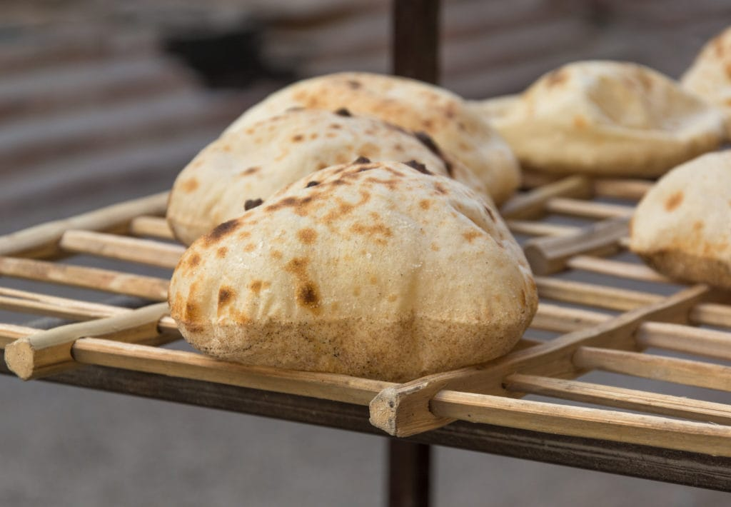 Egyptian Baladi Bread