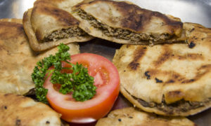 Egyptian Hawawshi (baked meat in bread)