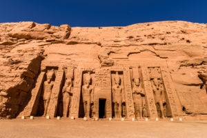 Egyptian Temple of Nefertari in Abu Simbel