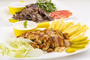Shawarma Plate (Chicken, Beef, or lamb) in Egypt