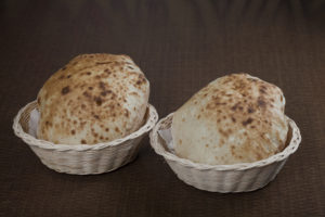 Egyptian Baladi Bread Can be kept in freezer and reheated before eating
