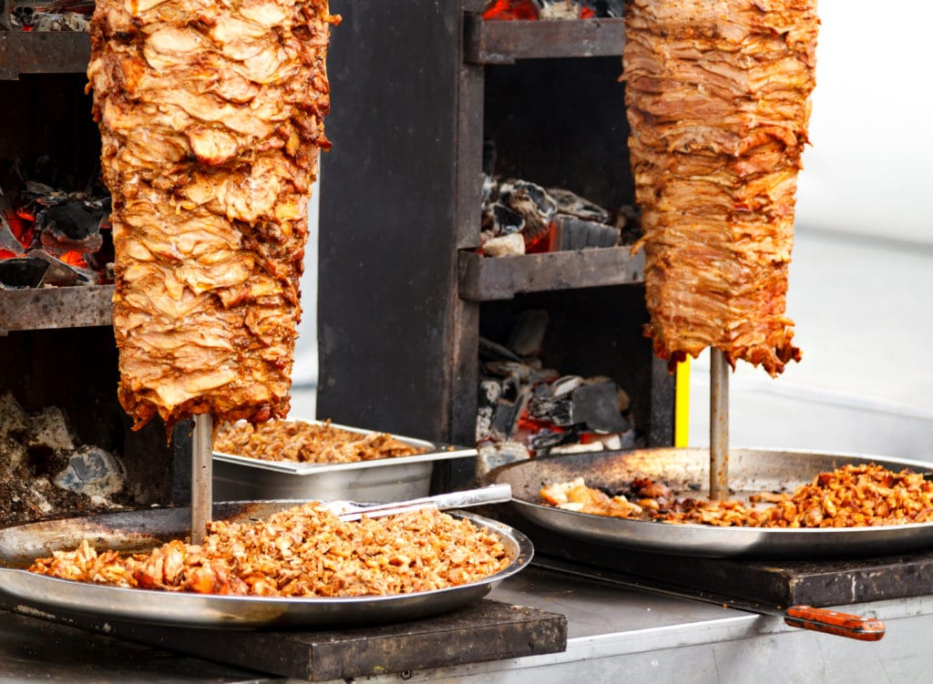 Shawarma (Chicken, Beef, or lamb) in Egypt