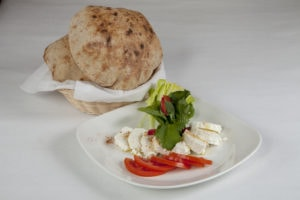 Egyptian Baladi Bread and Egyptian White Cheese are close companions!