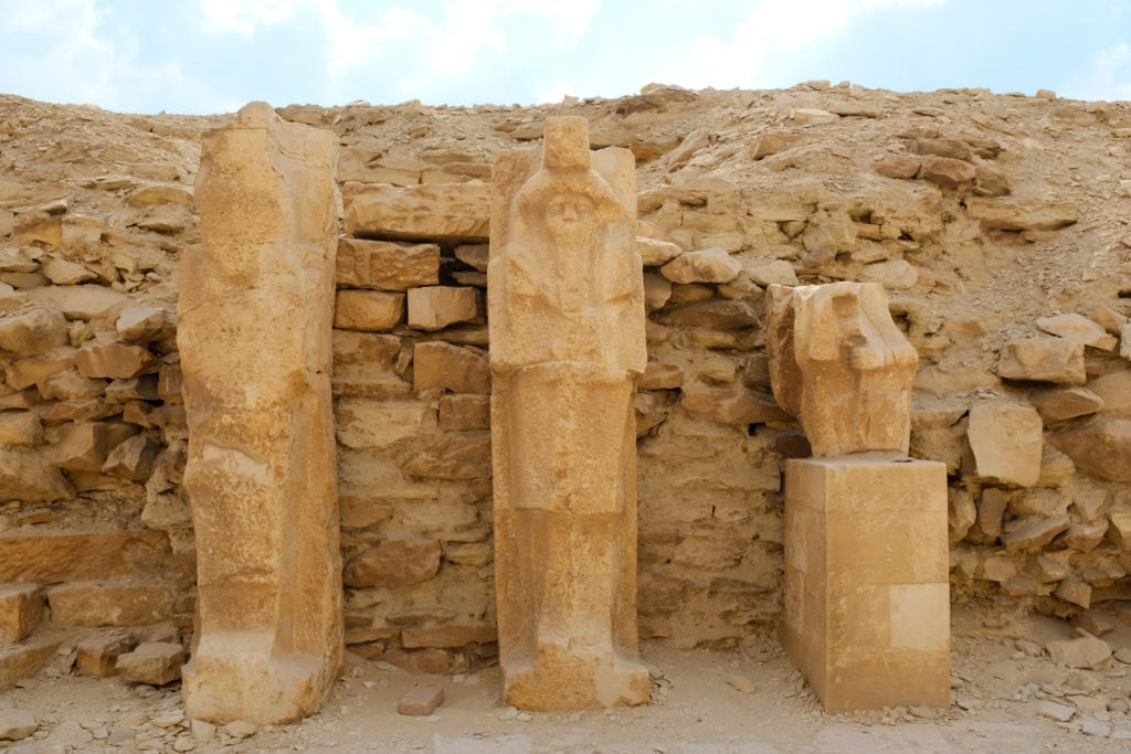 Ancient Statues at Saqqara