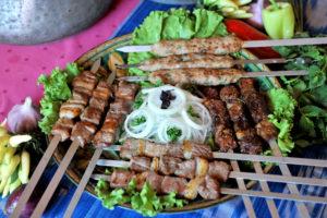 Kabab Skewers in Egypt
