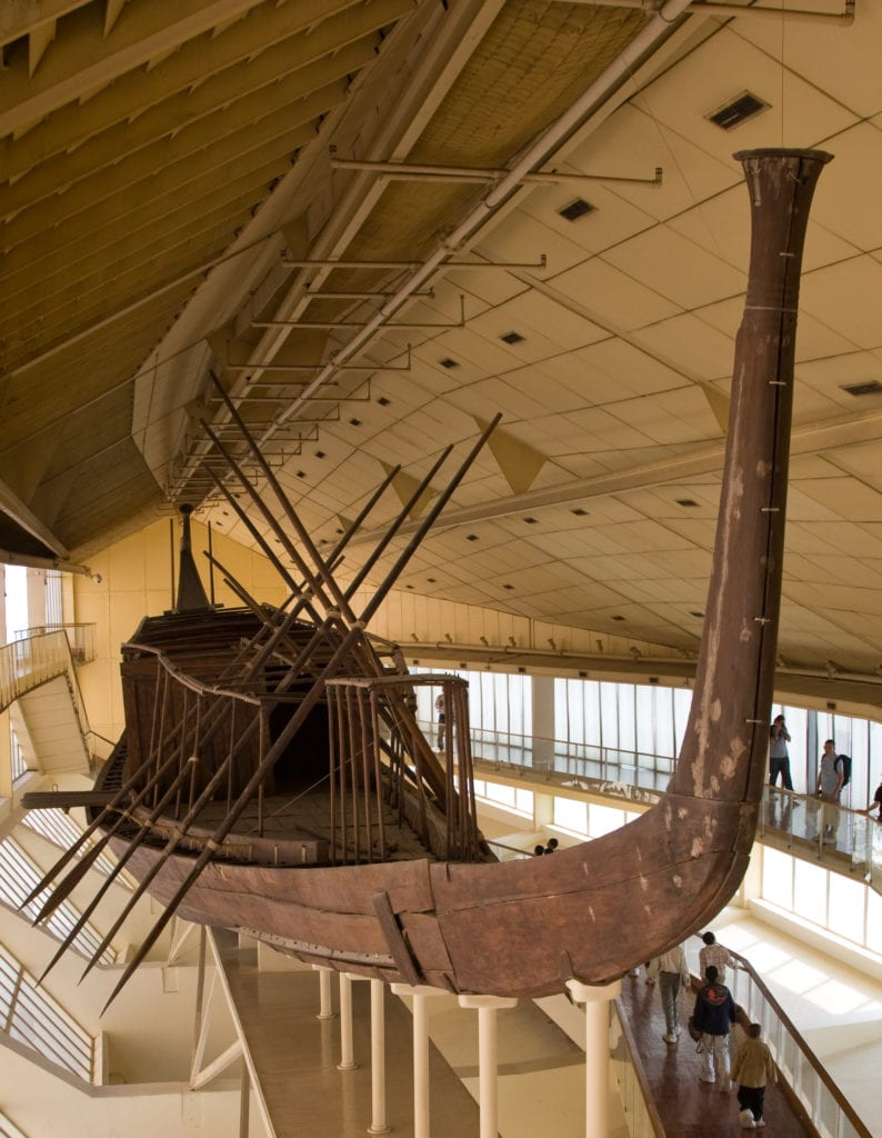 The Solar Boat of Khufu