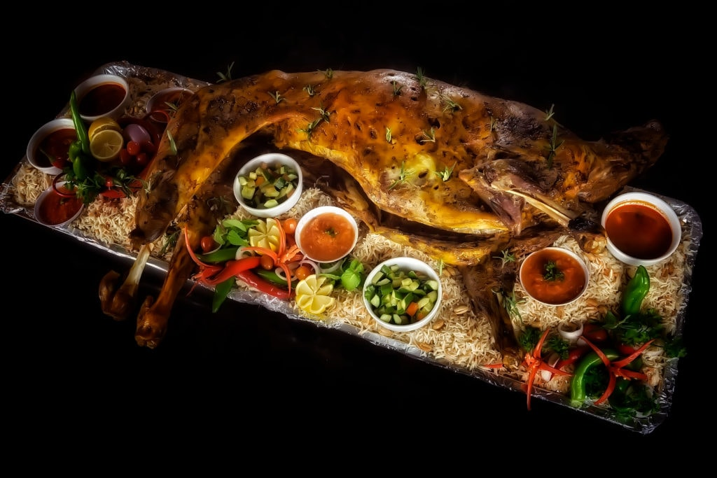 Grilled Whole Lamb in Egypt