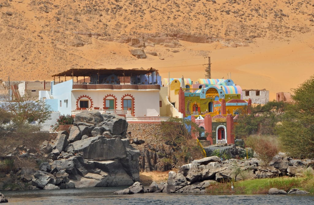 Sohail Nubian Village - Aswan - Egypt -Image  Tribute: Marc Ryckaert (MJJR) [CC BY 3.0 (https://creativecommons.org/licenses/by/3.0)]