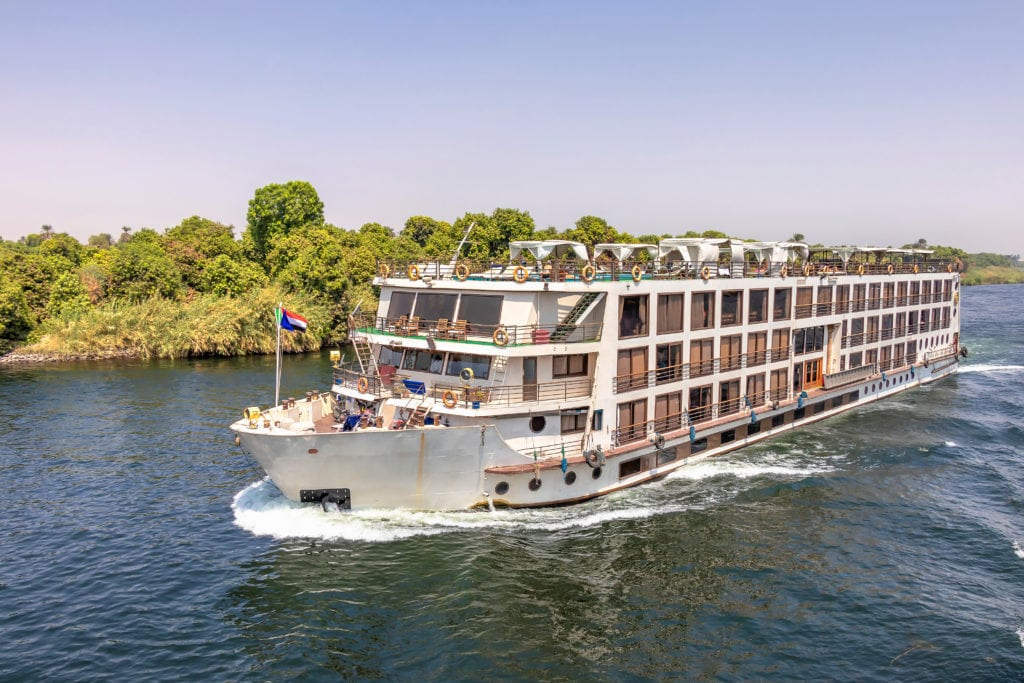 Cruise Ship on River Nile - Aswan - Egypt