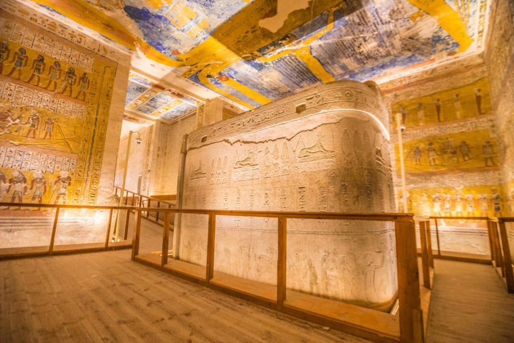 The Valley of Kings - Rameses IV tomb - Luxor - Egypt