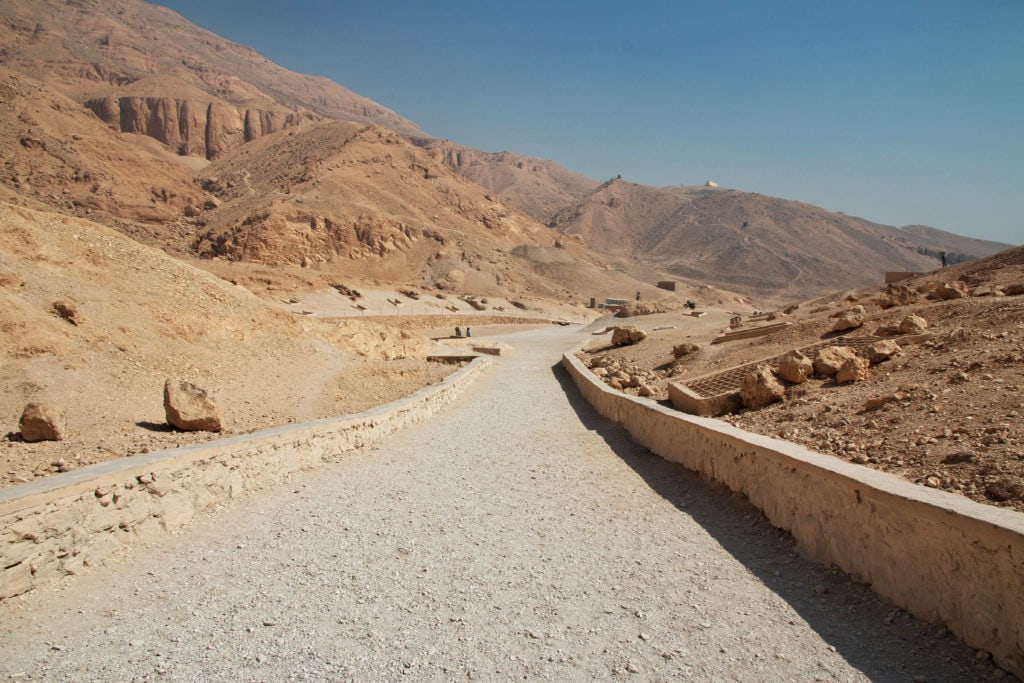 The Valley of the Queens - Final Resting Place for Many Ancient Egypt Queens and Princess -  Luxor - Egypt