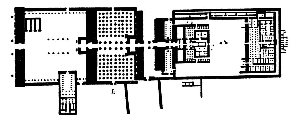 A Blueprint of Karnak Temple - Luxor - Egypt