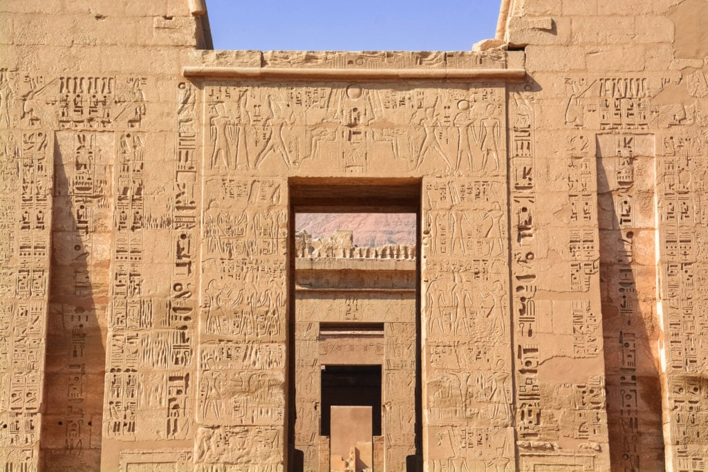 Medinet Habu - Temple of Ramesses III - Luxor -Egypt