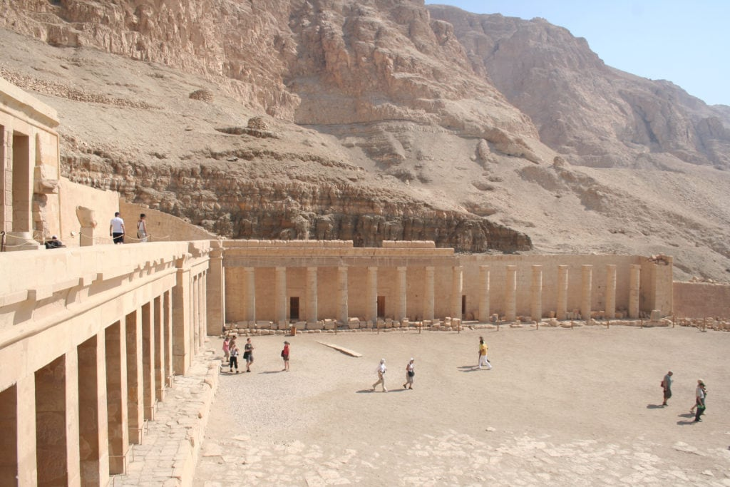 "Temple of Hatshepsut is also known as the Djeser-Djeseru or ""Holy of Holies"" - Luxor - Egypt"