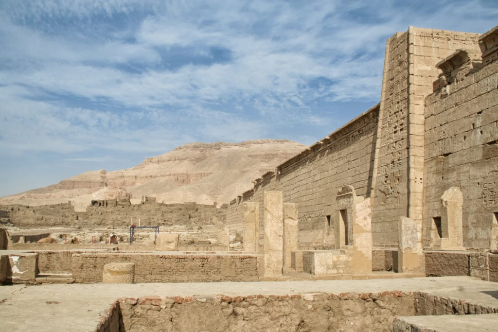 Mortuary Temple of Ramesses III - Egypt
