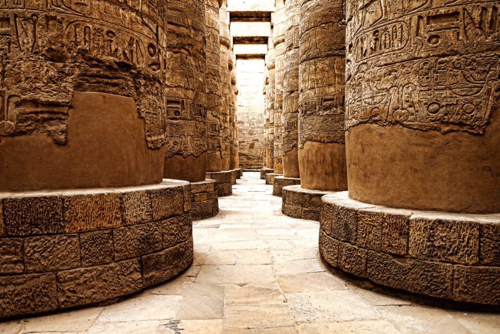 Temple of Karnak - Hieroglyphics - Luxor - Egypt