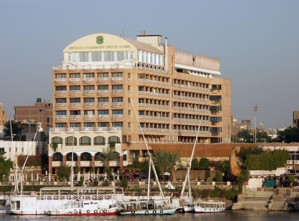 Sonesta Hotel in Luxor, Egypt