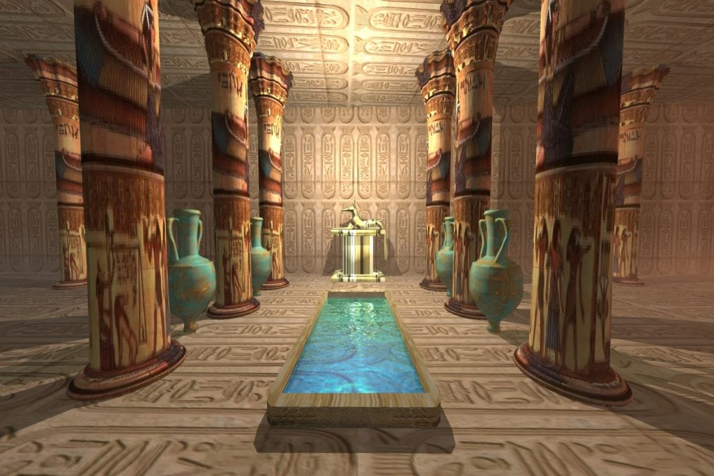 Egyptian Temples - A place to pay tribute to Egyptian Gods and Pharaohs.
