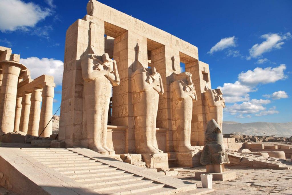Ramesseum Temple - Egypt