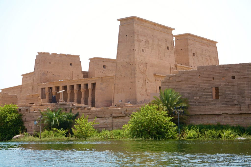 The temple of Isis -  Philae - Aswan - Egypt