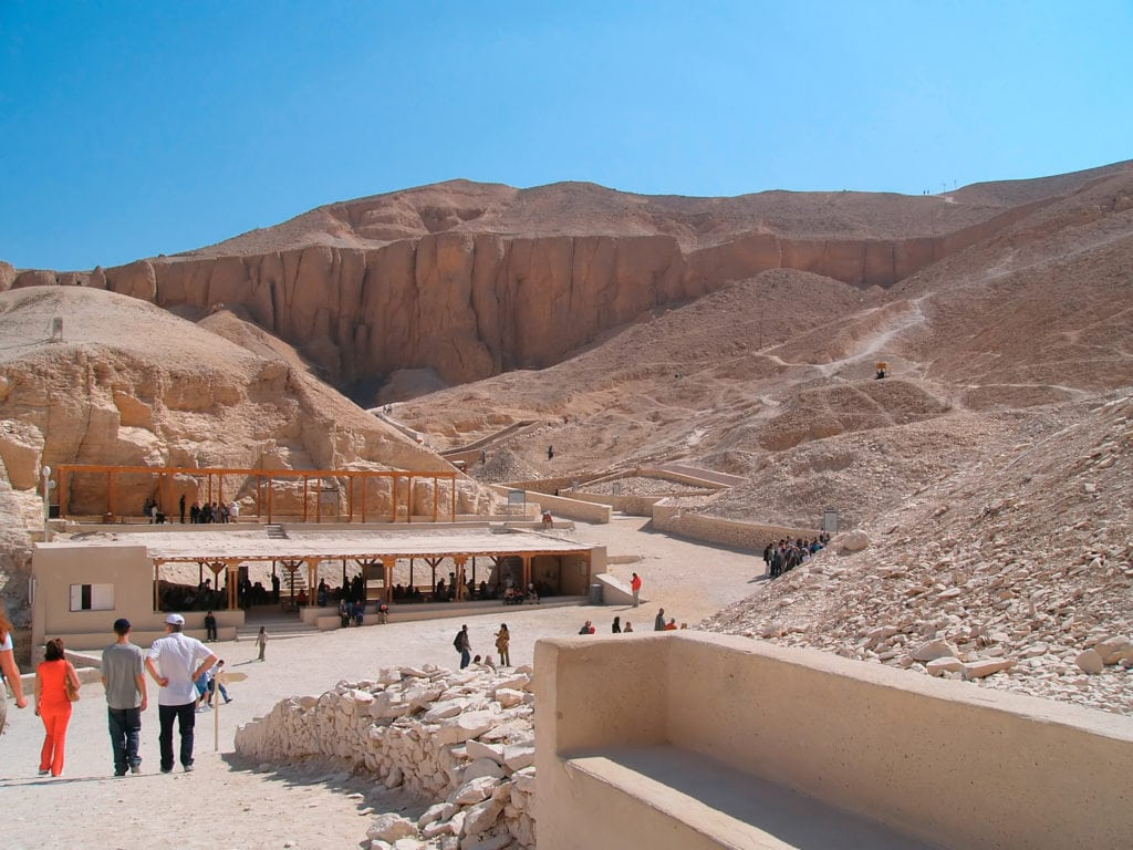 The Valley of the Kings - Luxor Egypt