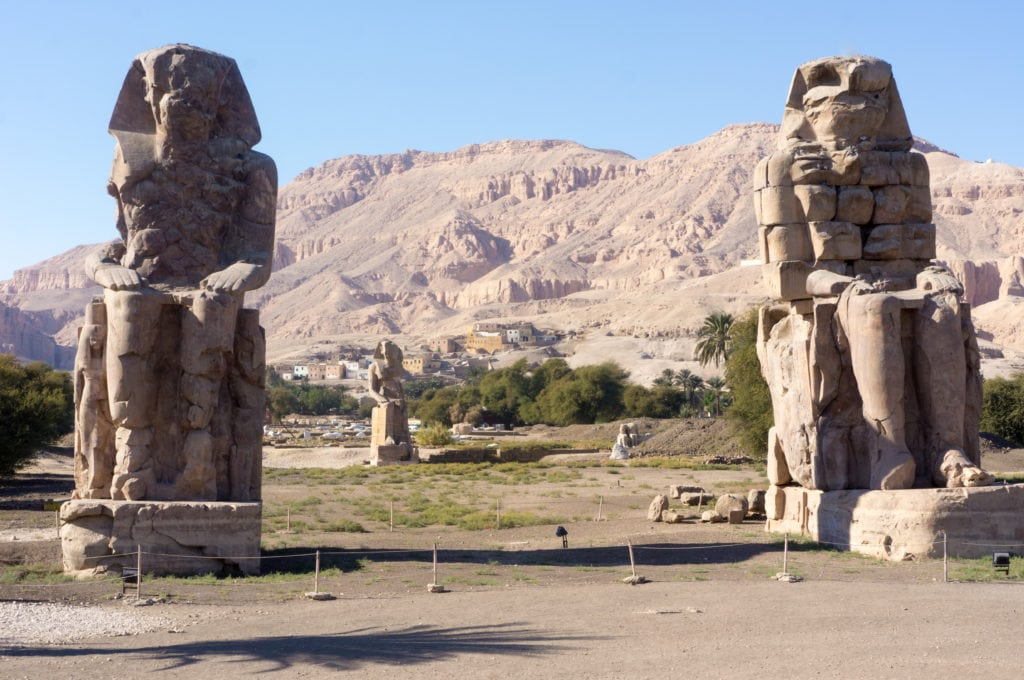 Colossi of Memnon - Luxor - Egypt