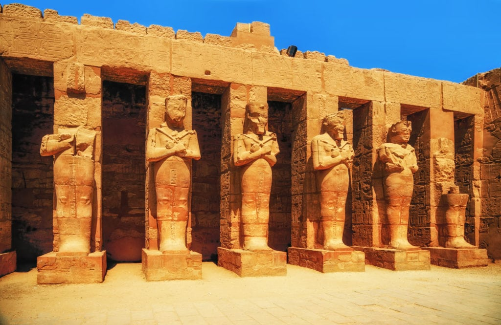 Karnak Temple - Hall of caryatids - Luxor - Egypt